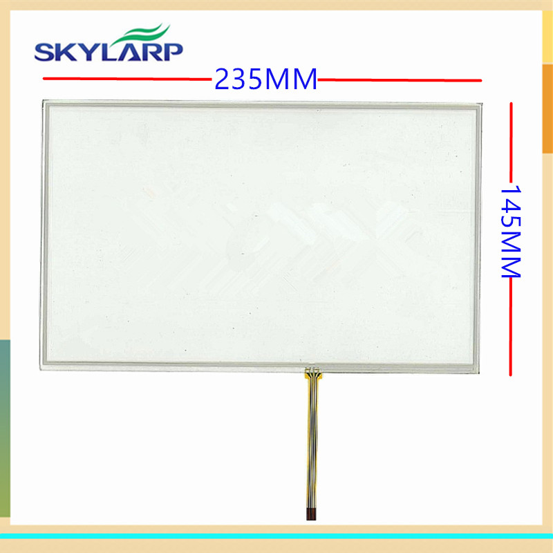 все цены на skylarpu New 10.2 inch touch screen 235mm*145mm Industrial equipment digitizer panel glass онлайн