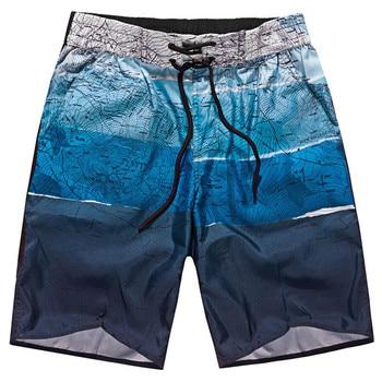 Brand Board Shorts Men Breathable Sport Swimming Shorts Solid Color Elastic Waist Beach Shorts Summer Swim Shorts 1
