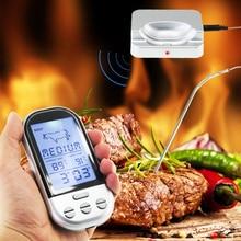 Wireless Remote Digital Essen/Fleisch/Ofen/Raucher/Mikrowelle/Türkei Thermometer Mit Sonde für GRILL, grillen Rösten Küche Kochen