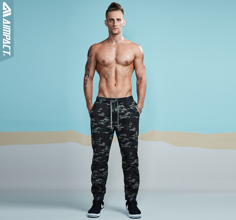 Aimpact 2018 New Men's Casual Camo Pants Cotton Chino Jogger Pant Man Fitted Trace Twill Pants Male Camouflage Trousers AM5012 (11)