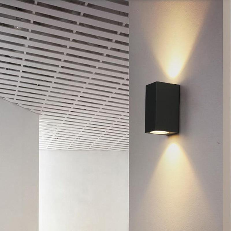 6W IP65 Waterproof outdoor wall lighting / outdoor wall lamp / LED Porch Lights / waterproof lamp outdoor lighting wall lamp 5pcs lot 18w led porch lamp double slider wall lamp outdoor lighting 2 9 1w wall lamps decoration wall lamp waterproof