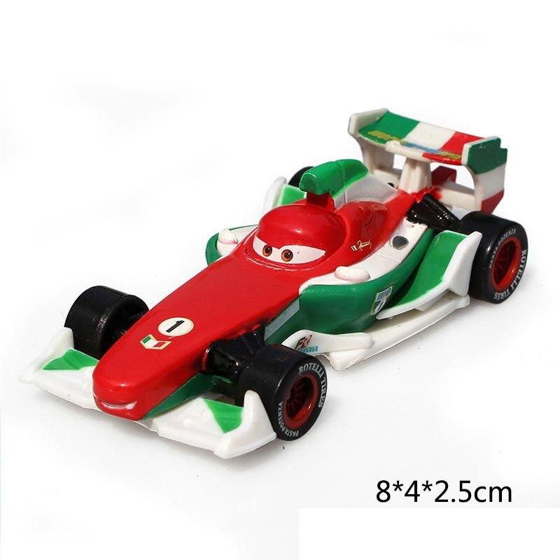 Дисней Pixar Тачки 2 3 Молния Маккуин матер Джексон шторм Рамирез 1:55 литье под давлением автомобиль металлический сплав мальчик малыш игрушки Рождественский подарок
