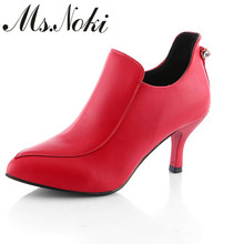 shoes women heels new fashion women zip italy design shoes fashion pointed toe ankle boots solid sweet girl shoes zapato mujer