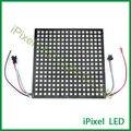 WS2812b RGB 16x16 Levou matriz de Pixels flexível do diodo emissor de vídeo em tela de exibição