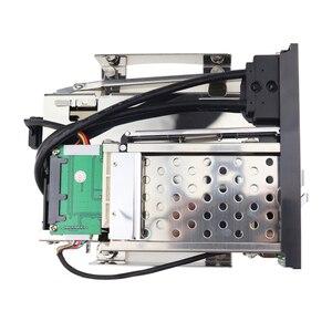 """Image 4 - 5.25 """"optische Dual Bay Tray Weniger Mobile Rack Gehäuse Für 2.5/3,5 Inch SATAT III HDD SSD Mit 2 Port USB 3,0 Hub Für Desktop PC"""