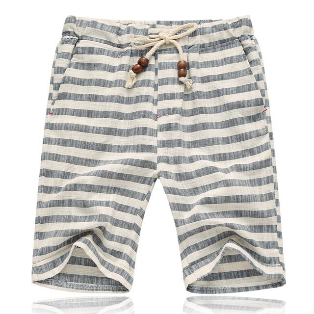 Greatest 2018 new brand summer men linen pants casual calf length pants  ER37