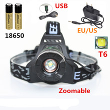 Sales Hot High-quality  2000lm Cree XML T6  led Headlamp Head Light Lamp Flashlight Hiking Camping Night Fishing Water-resistant sitemap 19 xml