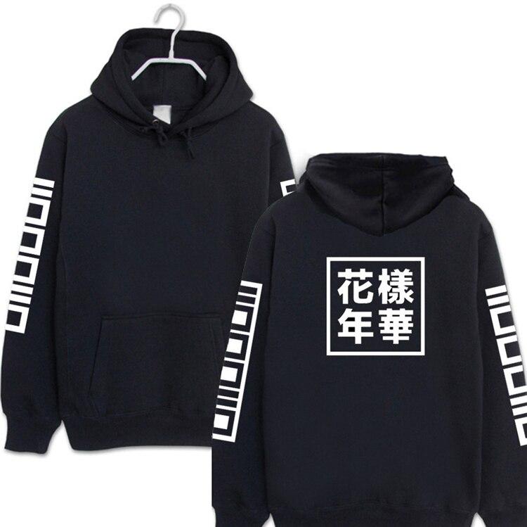 Kpop Winter 2018 new men Women BTS Bangtan Boys Mood for Love Albums hooded Hoodie k-pop bts long sleeved jacket coat Sweatshirt