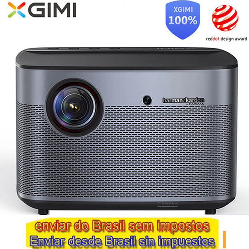 Versão global internacional H2 XGIMI Projetor DLP 1080 p Full HD 3D 4 K Projetor de Vídeo tv Android Bluetooth Wi-fi home Theater