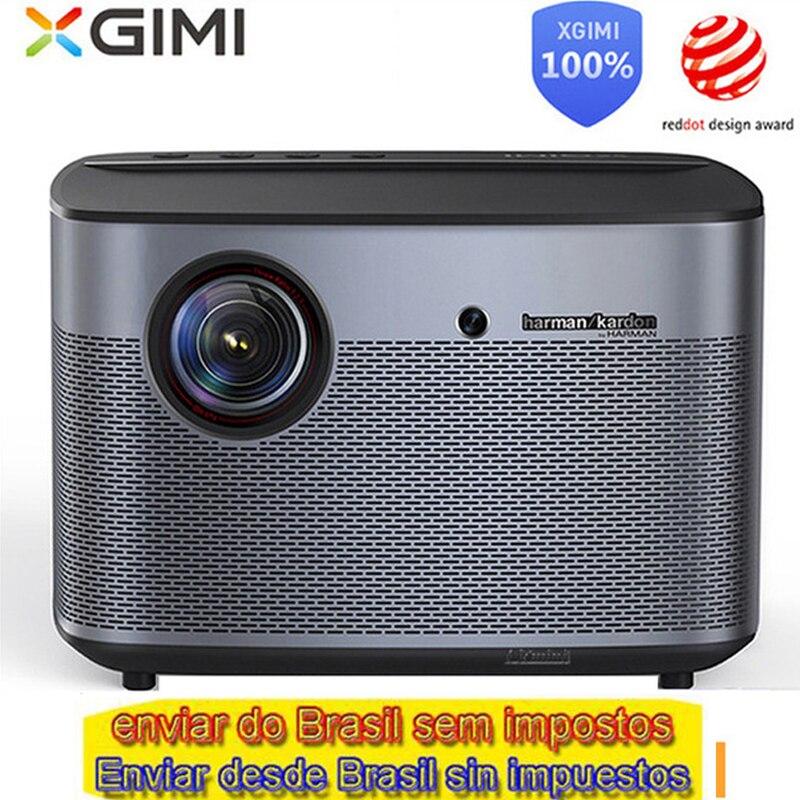 Version internationale mondiale XGIMI H2 DLP projecteur 1080 p Full HD 3D 4 K vidéo projecteur Android tv Bluetooth Wifi Home cinéma