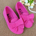 Slip On Girls Shoes With Bow 2017 Spring Colorful Children's Flats Kids Casual Shoes Girl Ballerinas Sapatos Ninas