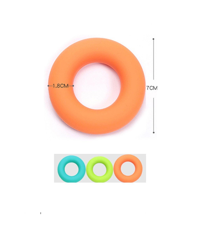 Image 3 - MYSBIKER ручка усилители, предплечье кольцо ручные тренажёры силиконовые Соковыжималка захват для укрепления мышц тренировочный инструмент 3 упаковки