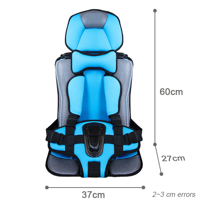 6M to 12 Years Old Big Size Toddler Safety Mat Boys Girls Kids Protection Chairs Sitting Pad with Belt Portable Travel Cushions