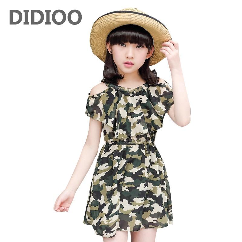 Платье трикотажное для девочки на лето