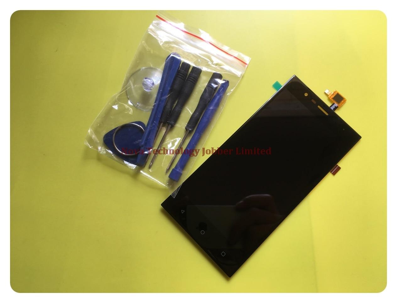 Wyieno 5 Noir Boost3 Capteur Pour Highscreen Boost 3/Boost 3 pro LCD + Numériseur À Écran Tactile assemblage d'écran