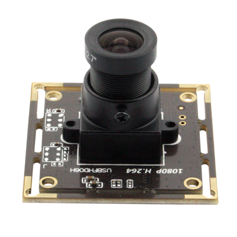 2MP Sony IMX322 Android Linux Windows H.264 30fps Webcam HD 1080P Camera Board With Audio Microphone For machinery equipement 3mp wdr full hd 1080p h 264 usb camera module 2 0 megapixel otg uvc webcam 2mp with microphone for android linux windows mac