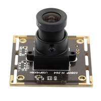 2MP Sony IMX322 Android Linux Windows H 264 30fps Webcam HD 1080P Camera Board With Audio