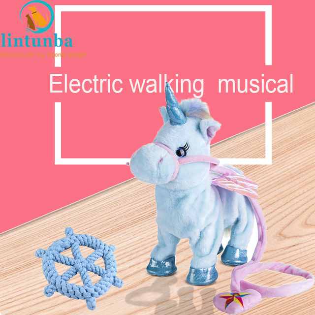 2018 New Arrival Electric Interactive Unicorn Toys Musical And