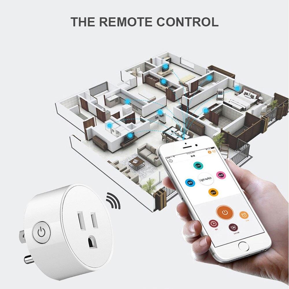 WIFI Smart Socket EU Plug 220V 16A Remote Control Smart Timing Switch Work For Amazon