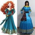 Female Princess Merida Adult Costume Brave Merida Cosplay Dress Film/Movie Party Halloween Costumes Custom Plus Size