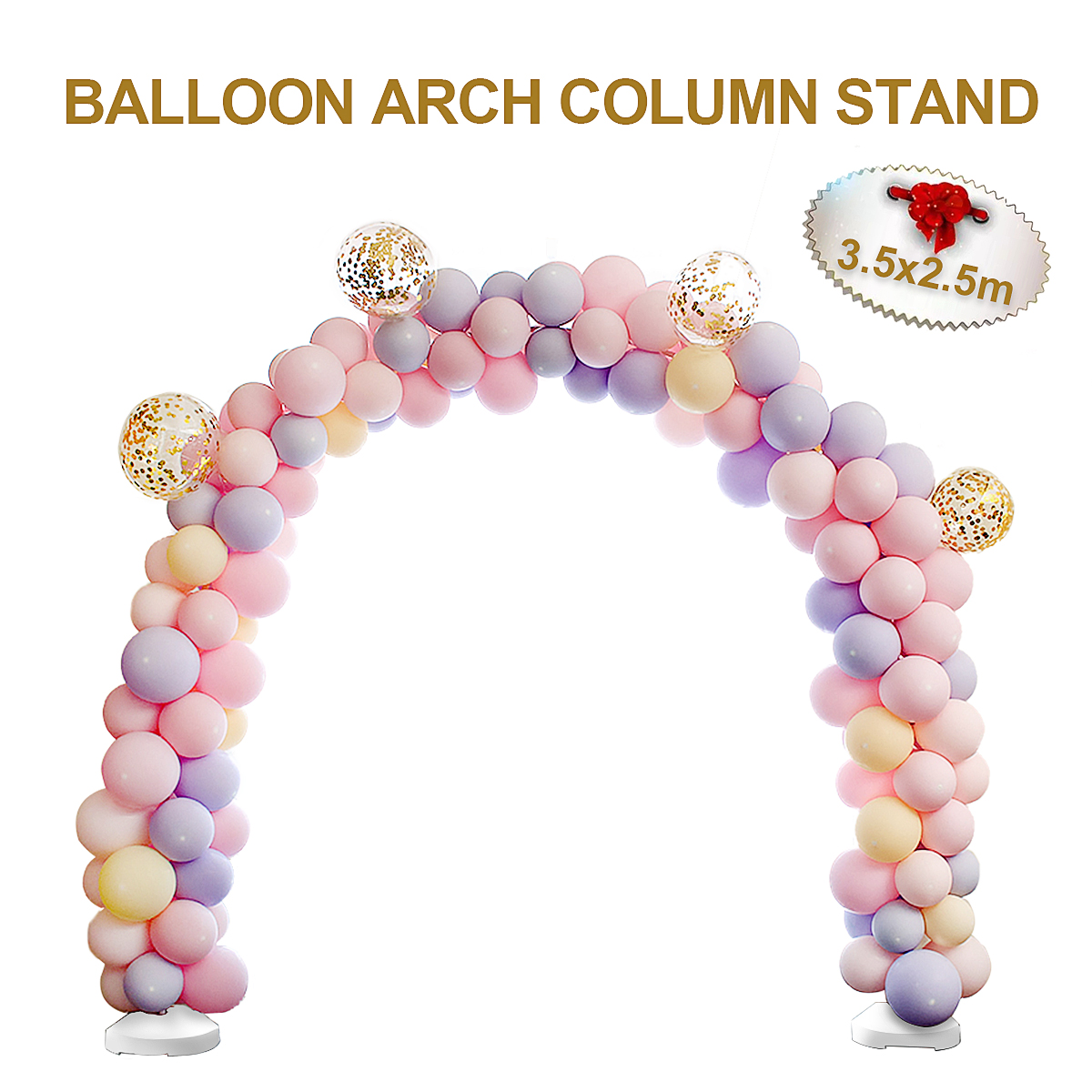 Balloon Column Kit Walmart Aliexpress Buy 14pcs Large Diy Balloon Arch Frame