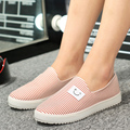 2016 Spring Summer Women Student Movement White Canvas Casual Shoes Woman Lazy Low Nurse Shoe Lovers