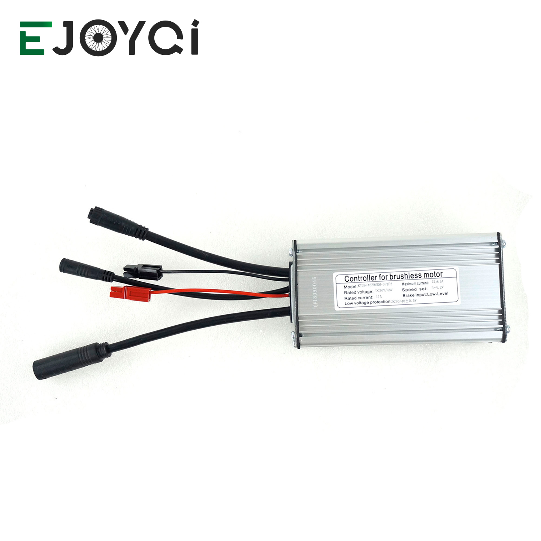 EJOYQI ebike Controller 36 48V 22A 9 Mosfets Light Function Whole Water Proof Plug KT kunteng