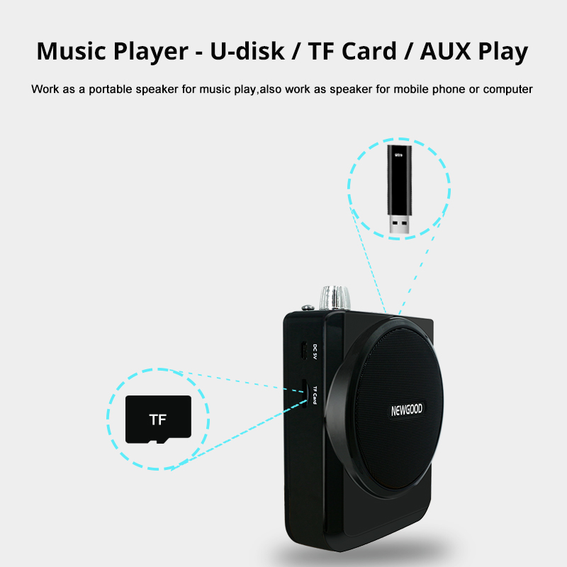 Profesionalno prijenosno glasno pojačalo Megaphone pojačalo s - Prijenosni audio i video - Foto 3