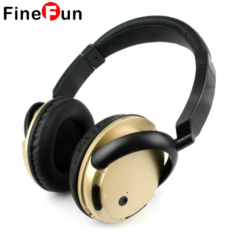 FineFun KST-900 Stereo Bluetooth V4.1 Headset Sports Wireless Headphone Earphone Headband with Mic Handsfree for Mobile Phone PC kst x7 metal earphone 3d stereo with mic