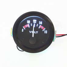Universal 8-16V Voltmeter Gauge Meter Racing Car 2 inch 52mm car Instrument