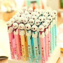 60 pcs/Lot Sunny dolls gel pen 0.38mm fine tip black ink pens for writing Japanese Stationery Office School supplies FB272