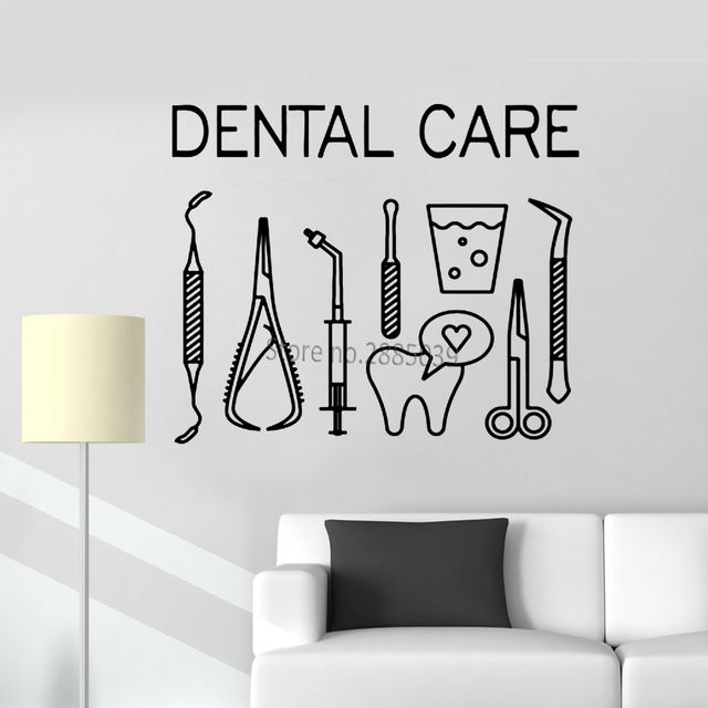 Dental Clinic Vinyl Art Dentistry Dental Art Pinterest | iltribuno.com