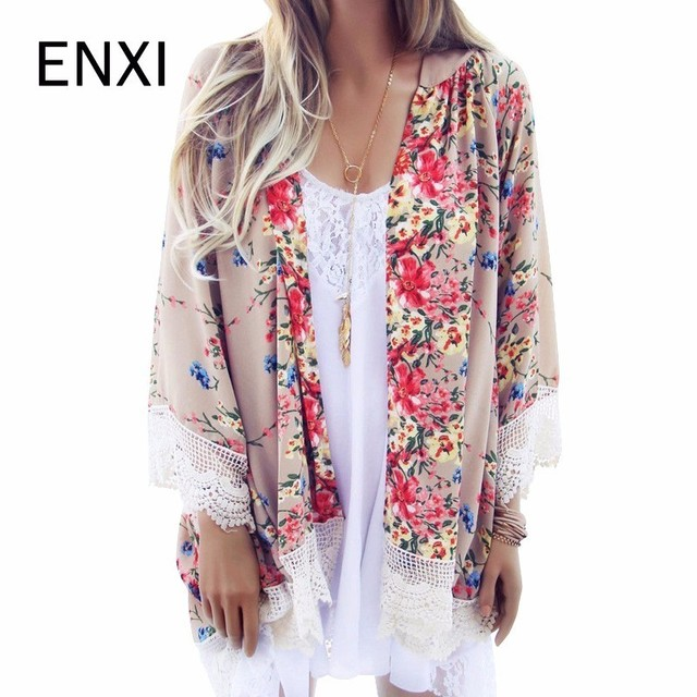 ENXI Female Blouse Plus Size Women's Cardigan Clothes For Pregnant Women Floral Shirts Tops For Maternity Femininas Clothing