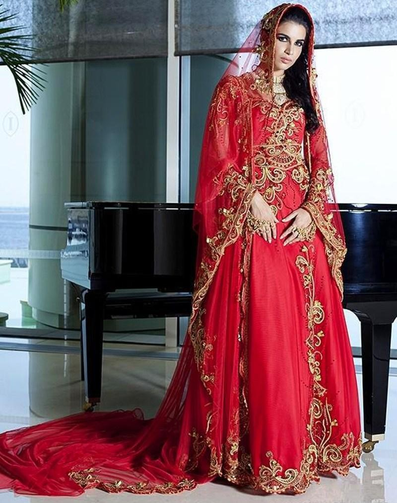 Image gallery islamic wedding dresses for Cheap muslim wedding dresses