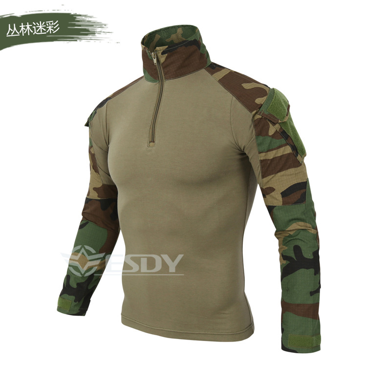 2018 Brand Hot Military Camouflage Military Frog Jacket Waterproof Trench Coat Military Jacket Men's Jacket And Jacket 2017