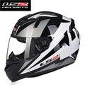 Frete grátis estilo mais recente de alta qualidade LS2 FF352 capacete da motocicleta rosto cheio de corridas capacete DOT ECE aprovado LS2 capacete