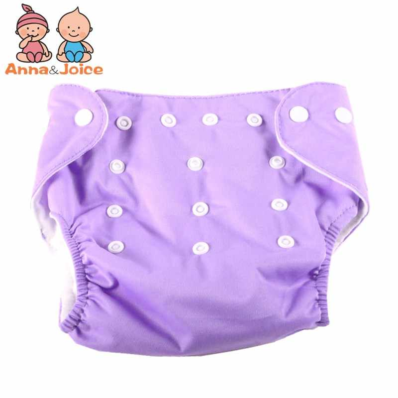 Hot Sale 15pcs/lot One Size 7 Colors For Choose Reusable Washable Baby Cloth Nappies Nappy Diapers 5 Diaper+10 Inserts b1trx0022