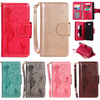Case For Samsung Galaxy S3 S4 S5 S6 S7 S8 Edge Plus Flip Leather Card Slot