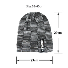 Skullies Beanies Knitted Wool Hat