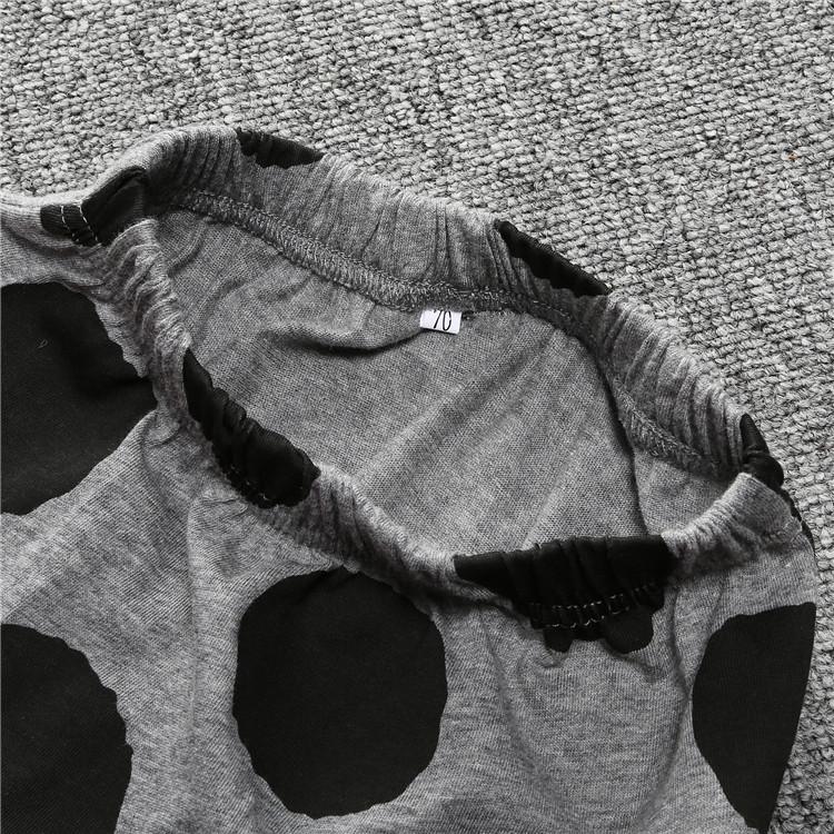 ST189 2017 Nowa dziewczyna przyjazdu i chłopców ubrania ustawić długi rękaw + Spodnie sowa wzór zestaw noworodka ubrania dla dzieci garnitur dzieci odzież 39