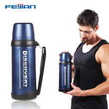 FEIJIAN 1.8L Thermos flask Thermo mug Coffee cup Stainles steel thermal bottle Termos Thermocup Vacuum Insulate