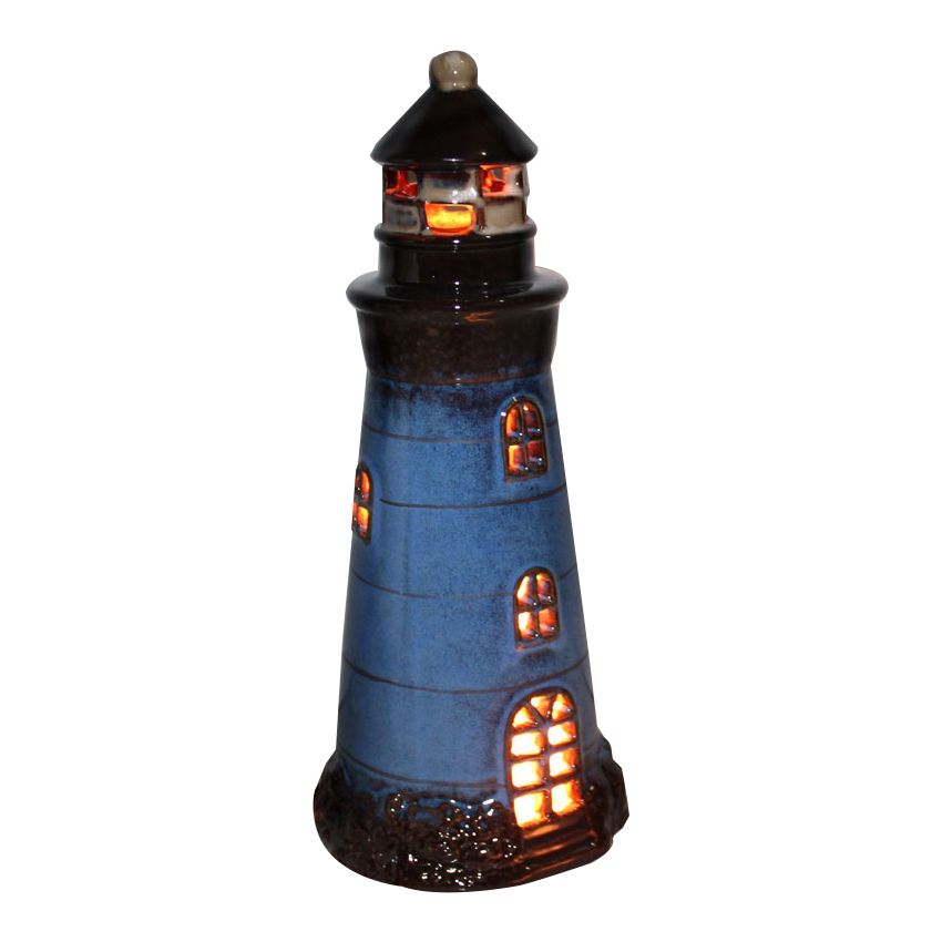 Mediterranean Lighthouse Desktop Decorative LED Table Lights Children Bedroom Table Lamps Ceramic Technology Luminaire Fixtures holand wolfram glass ceramic technology isbn 9781118265819