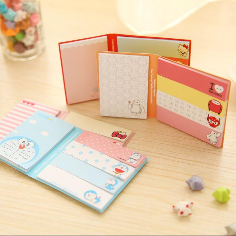 5 Pcs/lot S363 cute Korean Stationery kawaii Cat design mini message post it Memo pad sticky notes school office supplies