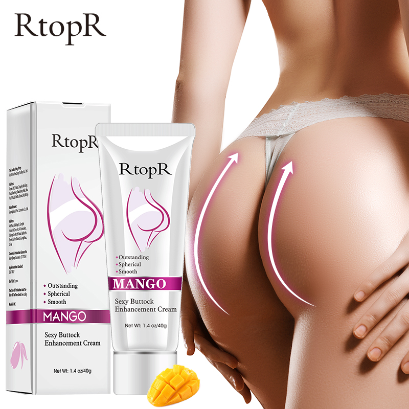 RtopR  Mango Sexy Buttock Enhancement Cream Improves Back And Leg Pain Eliminate Printing And Firming buttock Shape Hip Curve 1