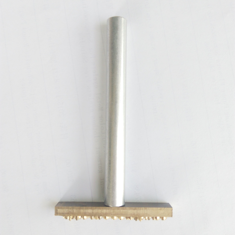 Diy Leather Embossing Stamp: Aliexpress.com : Buy Custom Design Leather Manual Knock
