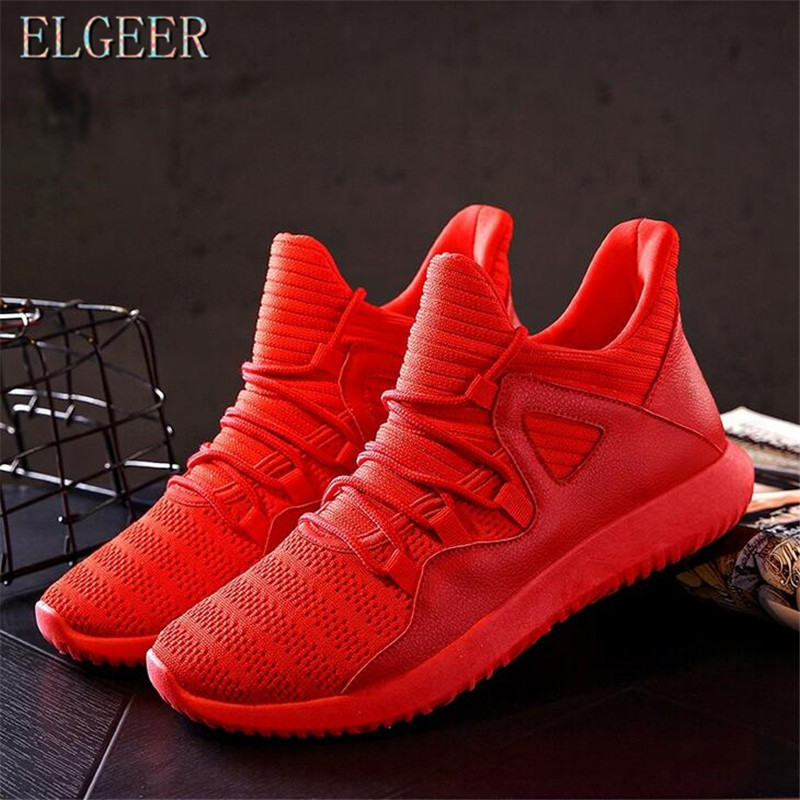 2018 spring and autumn new casual men's shoes flying mesh lace with - Men's Shoes - Photo 4