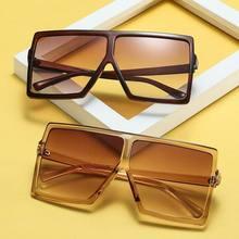 Übergroßen Lokomotive Brille Frauen Männer Retro Marke Designer Gradienten Vintage Shades Brillen Großen Rahmen Gläser Hohe Qualität
