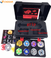 Free shipping beyblade set as children toys (more that 20 spare parts + 8 beyblades +1handles +2 launchers + beyblade box )