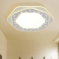 New Arrival Creative LED Ceiling Lights For Bedroom Modern Geometry Shape LED Lighting Fixture Lamparas De