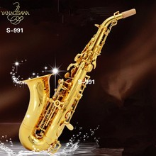 New High quality Soprano saxophone Yanagisawa S991 Sax B Musical Instrument Children Adults Soprano saxophone free shipping